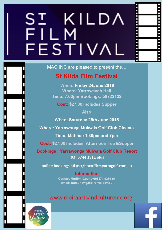Dual St Kilda Film Festival Flyer 2016