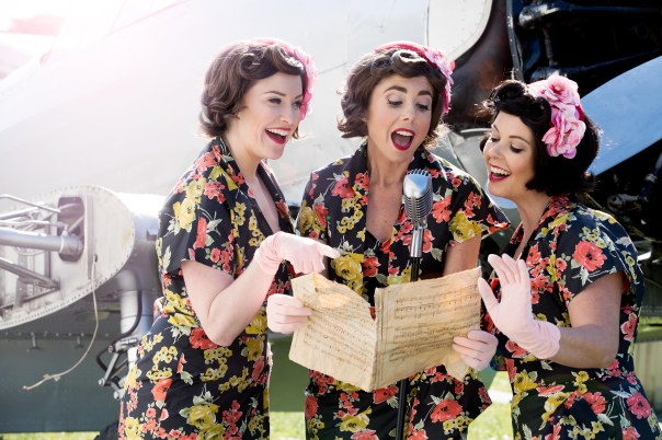 Pacific Belles singing
