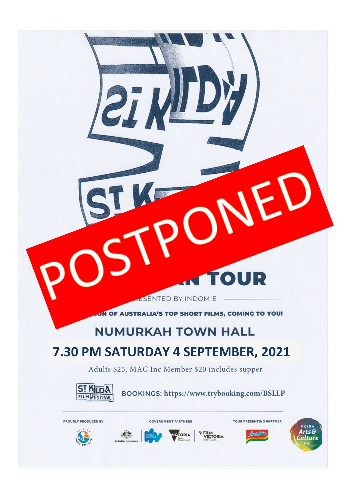 STKFF NKAH postponed