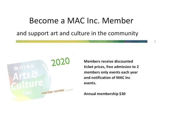 MAC INC MEMBERSHIP 2020 SLIDE